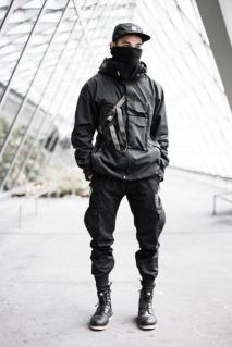 Technical Jacket Outfit 3