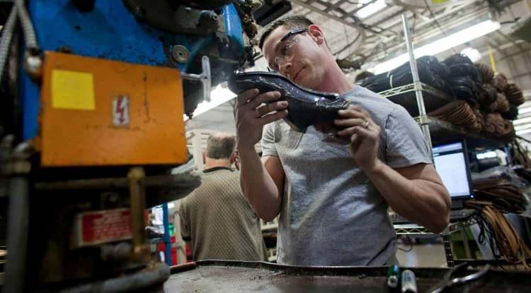 Allen Edmonds Factory In Wisconsin