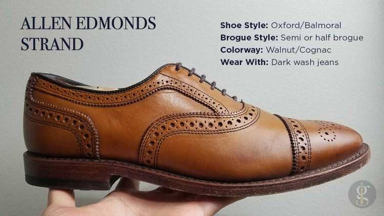 Allen Edmonds Strand In Walnut Style & Design