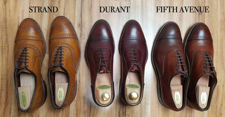 Oxford Brogue Battle