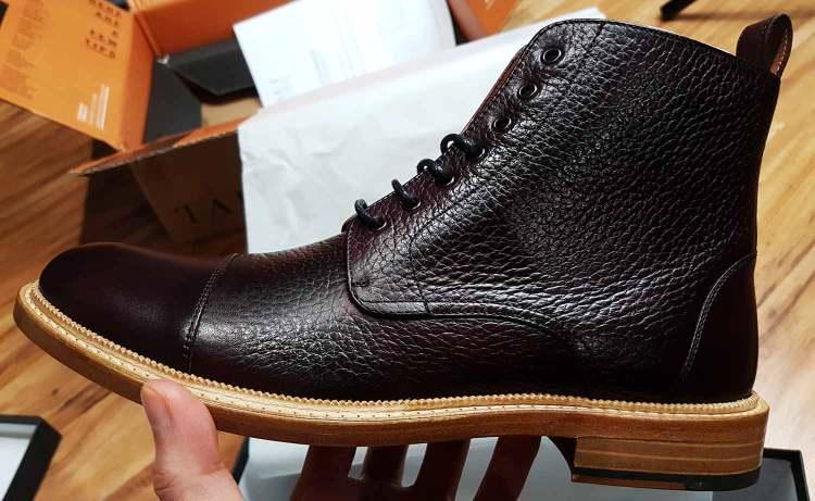 Taft Rome Boot Quality Control Check