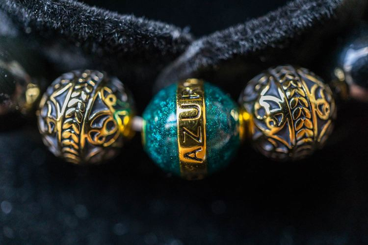 Azuro Republic Beaded Bracelet Detail Shot