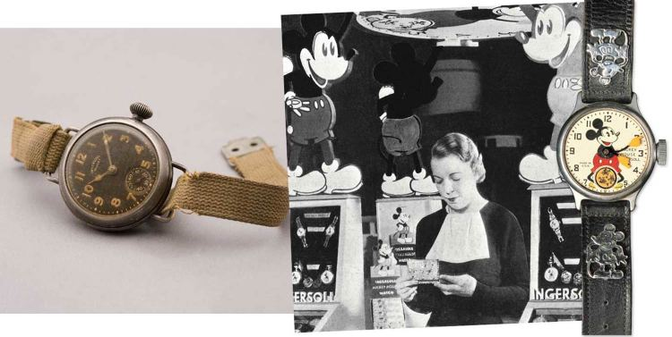 Timex x Disney. Mickey helped make Timex a household name. | via Timex