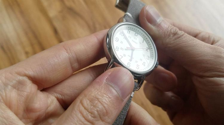 Timex Weekender Mineral Glass Scratch