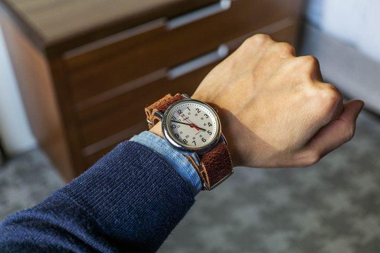 Timex Weekender On Wrist