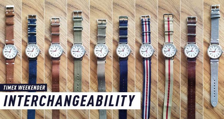 Timex Weekender Strap Interchangeability