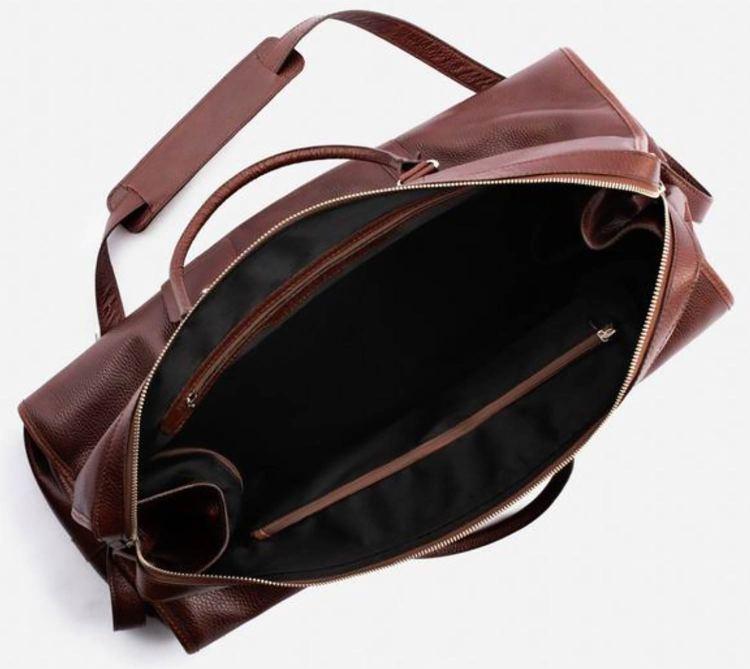 Davis Weekender Bag Inside Lining Pockets