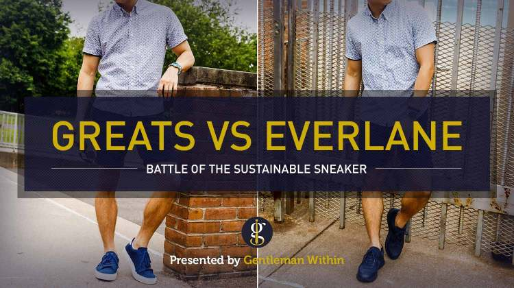 Review: Greats Royale Knit Sneaker vs Everlane Tread Trainer | GENTLEMAN WITHIN