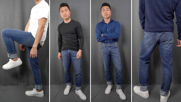 Mott & Bow Skinny Jeans Fit Collage