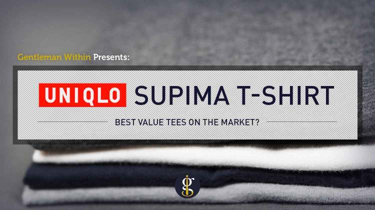 Uniqlo Supima Cotton T-Shirt Review (Best Value Tees?) | GENTLEMAN WITHIN