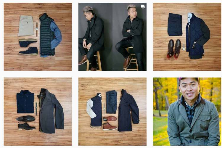 J.Crew Factory Walker Vest Collage 1