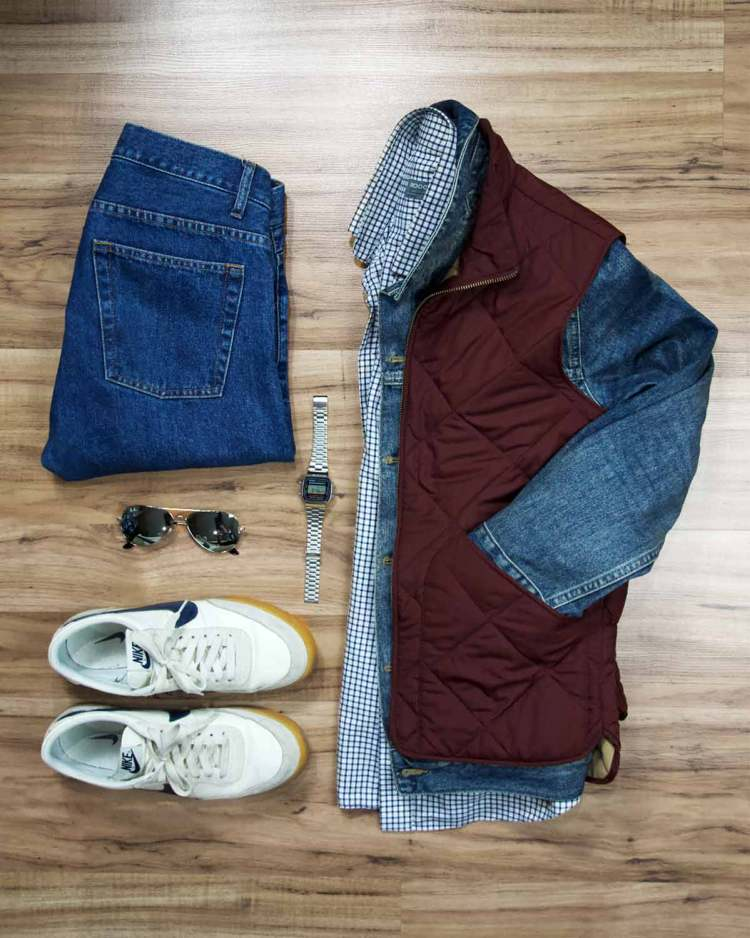 Marty McFly Back To The Future Outfit