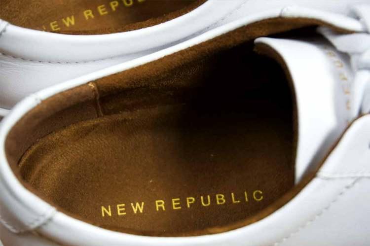 New Republic Sneaker Detail