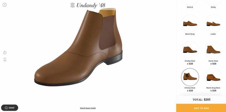 Undandy Shoe Designer Chelsea Boot