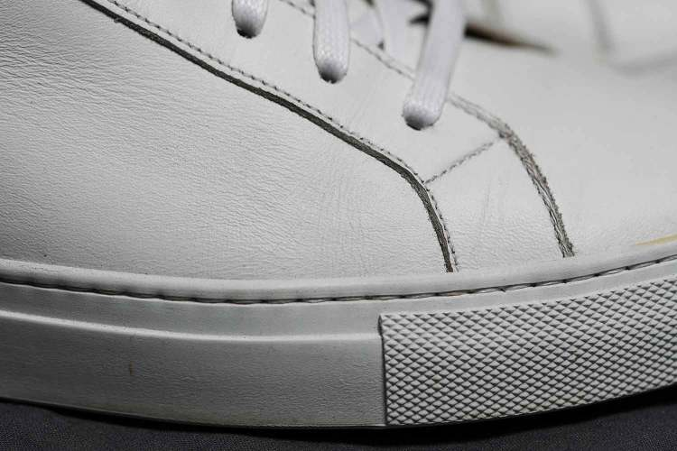 Ace Marks Leather Sneaker Margom Side Detail