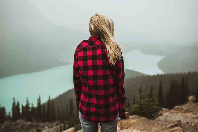 Check Flannel Girl