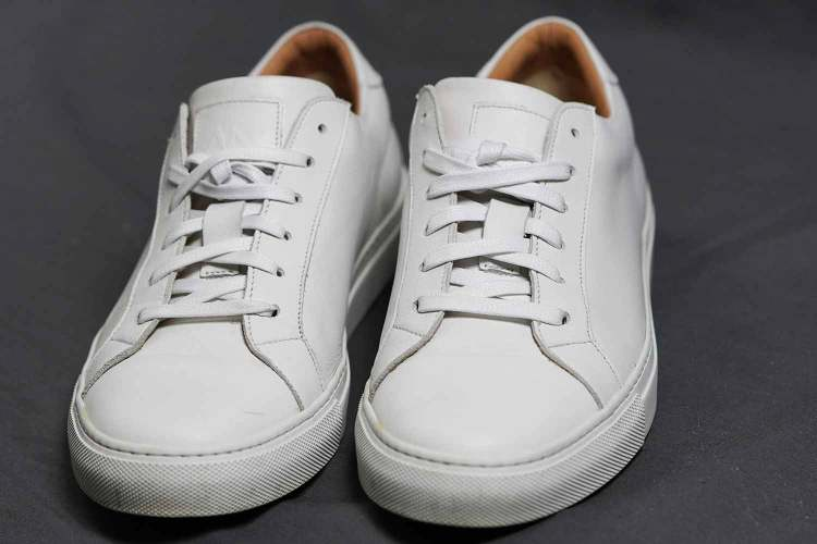 Duke White Leather Sneakers How They Have Held Up