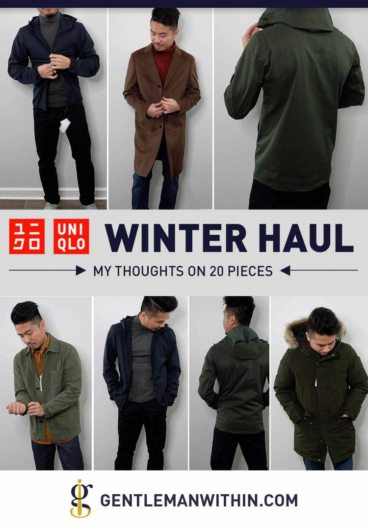 UNIQLO Winter Try-On Haul 2020 (Review) | Men's Cold Weather Style Inspiration | GENTLEMAN WITHIN