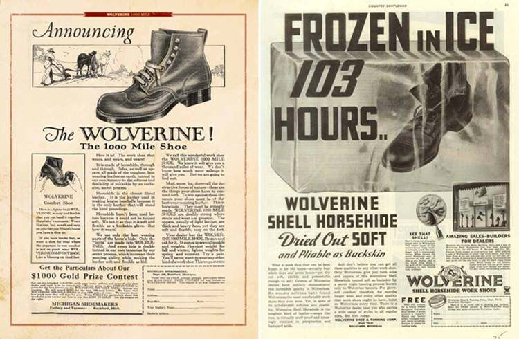 Wolverine Heritage Ads