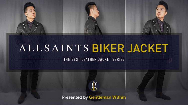 AllSaints Milo Biker Jacket Review (Best Leather Jacket Series) | GENTLEMAN WITHIN