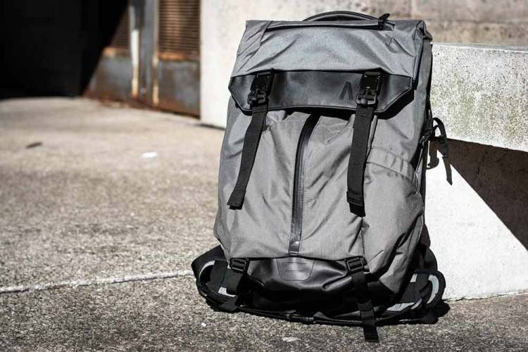 boundary supply prima system gray backpack