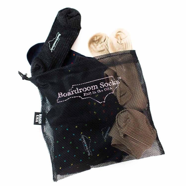 boardroom socks laundry bag