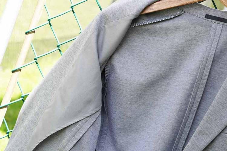 comfort jacket quarter lining 2 light gray