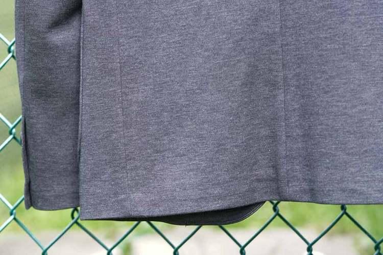 comfort jacket ventless design