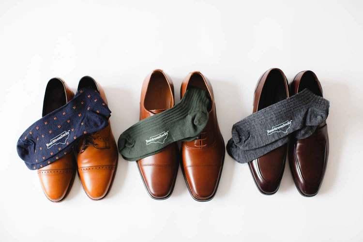 dress socks and dress shoes