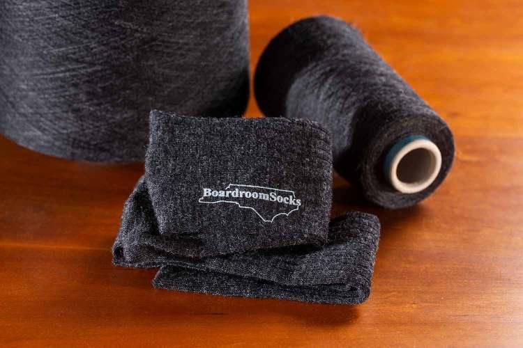 wool socks and wool yarn