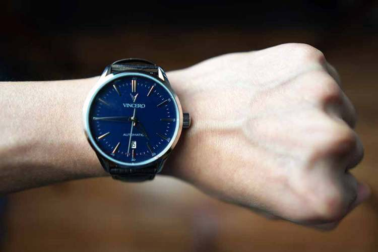 the icon automatic on wrist
