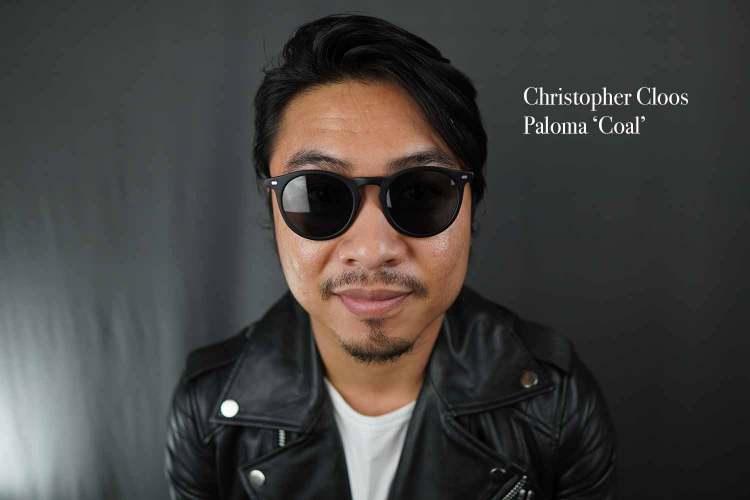 christopher cloos paloma coal sunglasses