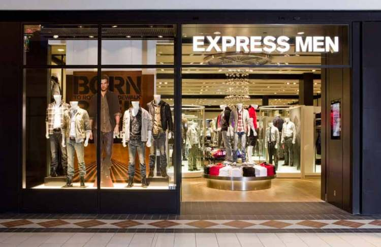 express fashion store front