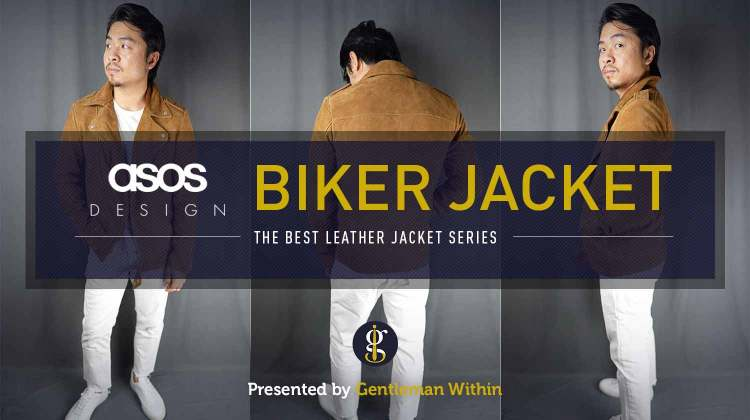 ASOS DESIGN Suede Biker Jacket Review (Best Leather Jacket Series) | GENTLEMAN WITHIN