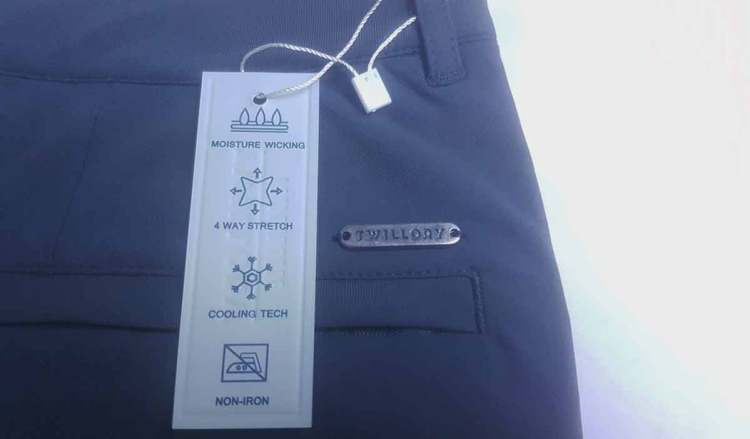 twillory performance pants details