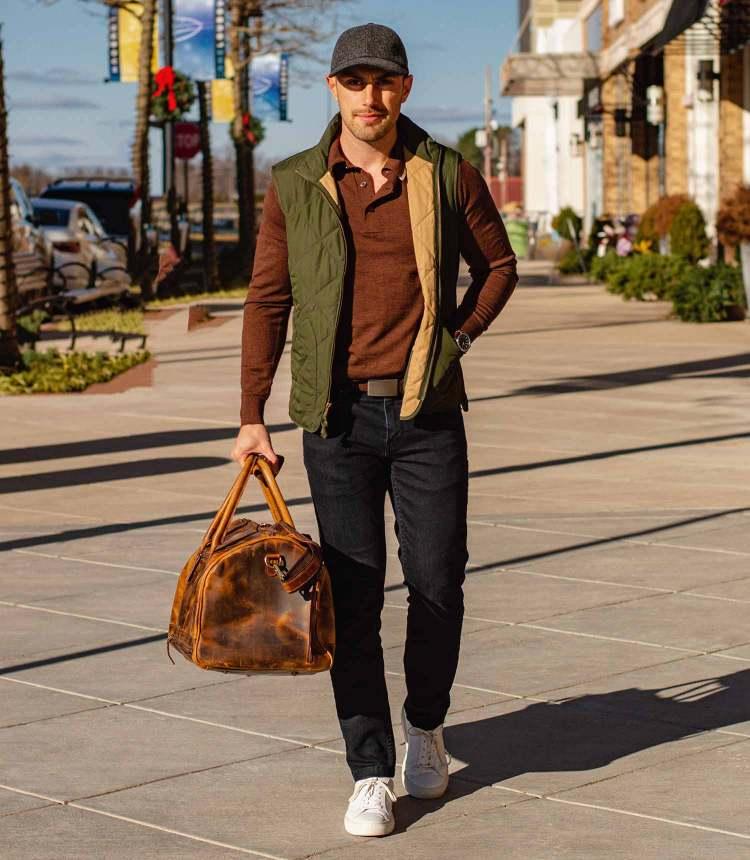 kodiak leather denali bag styling 1