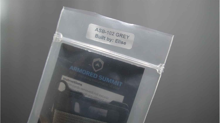 trayvax armored summit wallet built by