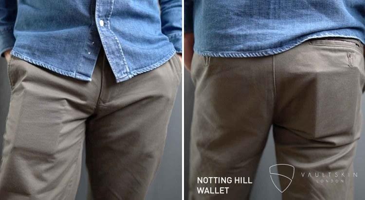 vaultskin notting hill wallet in pockets
