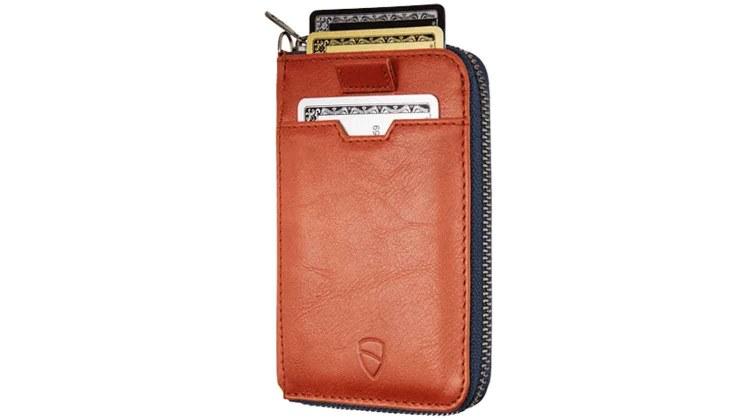 vaultskin notting hill zipper wallet