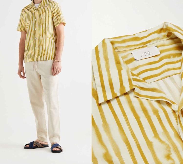 camp collar shirt 1