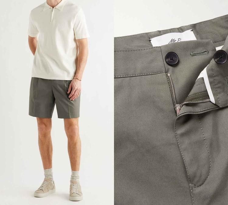 pleated shorts 2