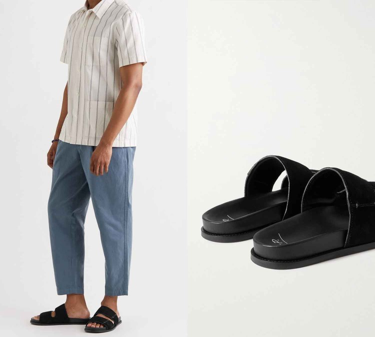 suede sandals 2
