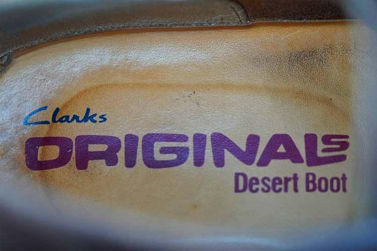 clarks originals desert boot insole