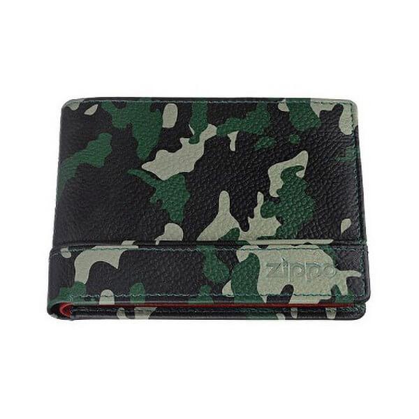 880049 portofel zippo piele camuflaj