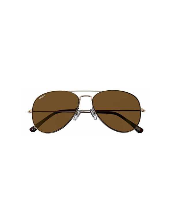 zippo brown revo pilot sunglasses 1 min