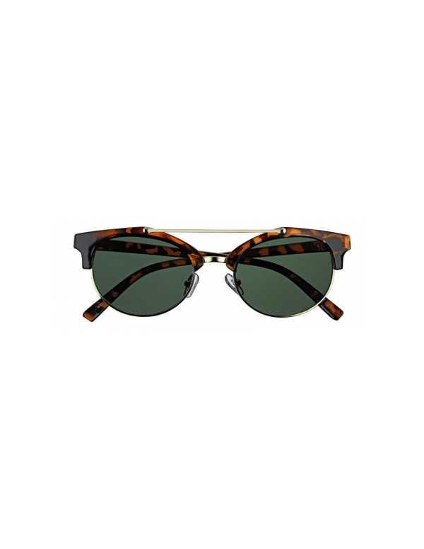zippo green mirror sunglasses with brow bar 1 min