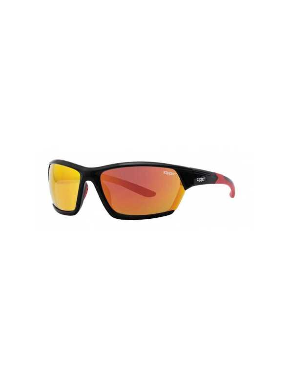 zippo orange multicoated wrap sports sunglasses