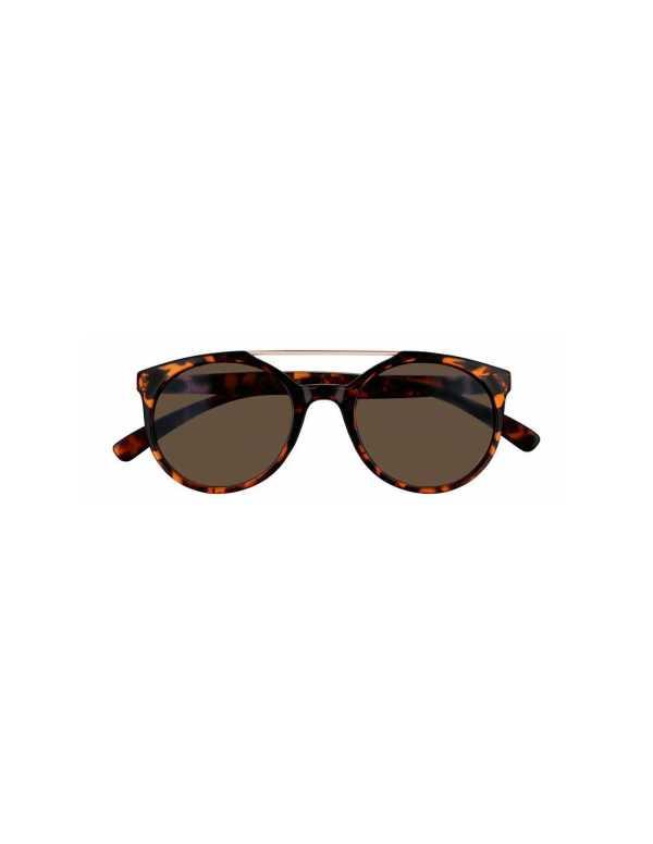 zippo smoke circular sunglasses with brow bar 1