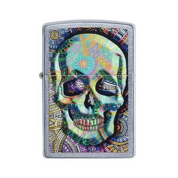 151773 bricheta zippo geometric skull 1