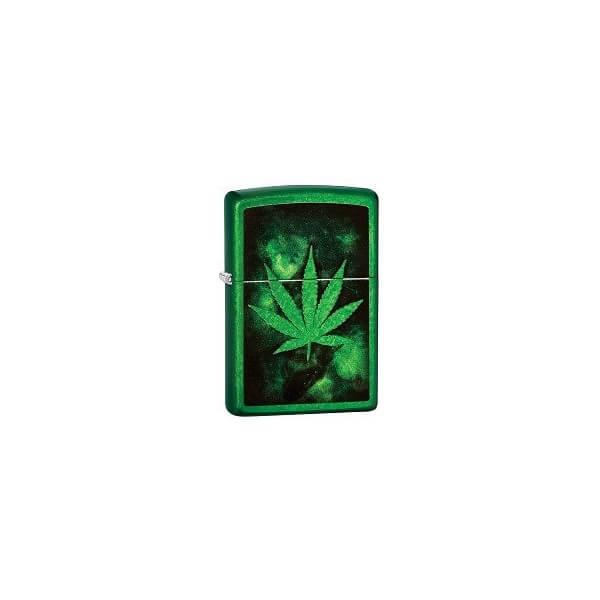 158057 bricheta zippo green leaf 1 1